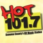 Logo da emissora KXFX 101.7 FM Hot