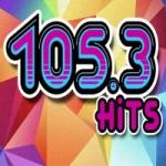 Logo da emissora Radio Hits 105.3 FM