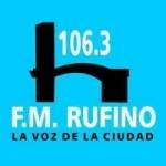 Logo da emissora Radio Rufino 106.3 FM