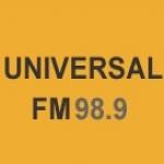 Logo da emissora Radio Universal Rufino 98.9 FM