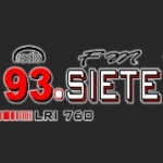 Logo da emissora Radio Siete 93.7 FM