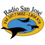 Logo da emissora Radio San José 107.7 FM