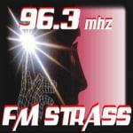 Logo da emissora Radio Strass 96.3 FM
