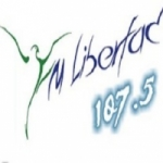 Logo da emissora Radio Libertad 107.5 FM