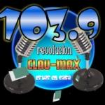 Logo da emissora Radio Revolucion Clau-Max 103.9 FM