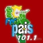 Logo da emissora Radio País 101.1 FM