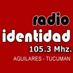Logo da emissora Radio Identidad 105.3 FM