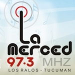Logo da emissora Radio La Merced 97.3 FM
