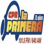 Logo da emissora CPR La Primera 101.5 FM