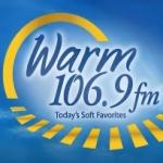 Logo da emissora KRWM 106.9 FM