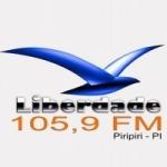 Logo da emissora Rádio Liberdade de Piripiri 105.9 FM