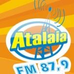 Logo da emissora R�dio Atalaia 87.9 FM