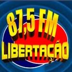 Logo da emissora R�dio Liberta��o 87.5 FM