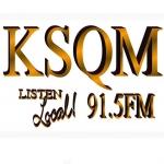 Logo da emissora KSQM 91.5 FM