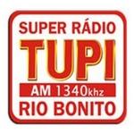 Logo da emissora Super Rádio Tupi Rio Bonito 1340 AM