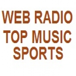 Logo da emissora Web Rádio Top Music Sports