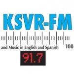Logo da emissora KSVR 91.7 FM