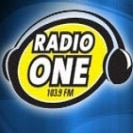 Logo da emissora Radio One 103.9 FM