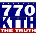 Logo da emissora KTTH 770 AM
