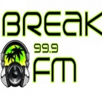 Logo da emissora Radio Breack 99.9 FM