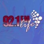Logo da emissora Radio Life 92.1 FM
