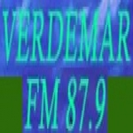 Logo da emissora R�dio Verde Mar 87.9 FM