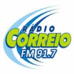 Logo da emissora R�dio Correio 91.7 FM