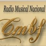 Logo da emissora Radio CMBF Musical 98.7 FM