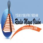 Logo da emissora Radio Maya Vision FM