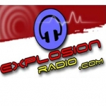 Logo da emissora Explosion 100.7 FM