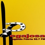 Logo da emissora La Pegajosa 92.7 FM