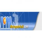 Logo da emissora Radio Metropole 100.1 FM