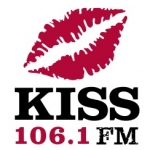 Logo da emissora Radio Kiss 106.1 FM