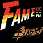 Logo da emissora Fame 95.7 FM