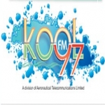 Logo da emissora Kool 97.1 FM