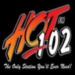 Logo da emissora Hot 101.9 FM