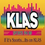 Logo da emissora Klas Sports 89.5 FM