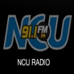 Logo da emissora Radio NCU 91.1 FM