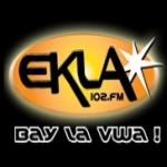 Logo da emissora Ekla 102.1 FM
