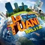 Logo da emissora Radio La Tuani 100.3 FM