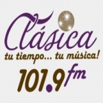 Logo da emissora Radio Clásica 101.9 FM