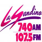 Logo da emissora Sandino 107.5 FM