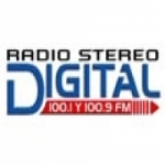 Logo da emissora Radio Stereo 100.1 FM