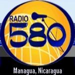 Logo da emissora La 580 AM