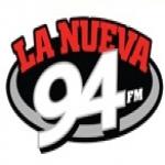 Logo da emissora La Nueva 94.7 FM WODA