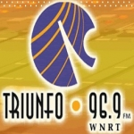 Logo da emissora WNRT 96.9 FM Triunfo