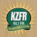 Logo da emissora Radio KZFR 90.1 FM