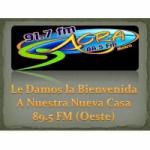 Logo da emissora Radio Sacra 91.7 FM