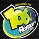Logo da emissora WRRH 106.1 FM