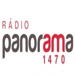 Logo da emissora Radio Panorama 1470 AM